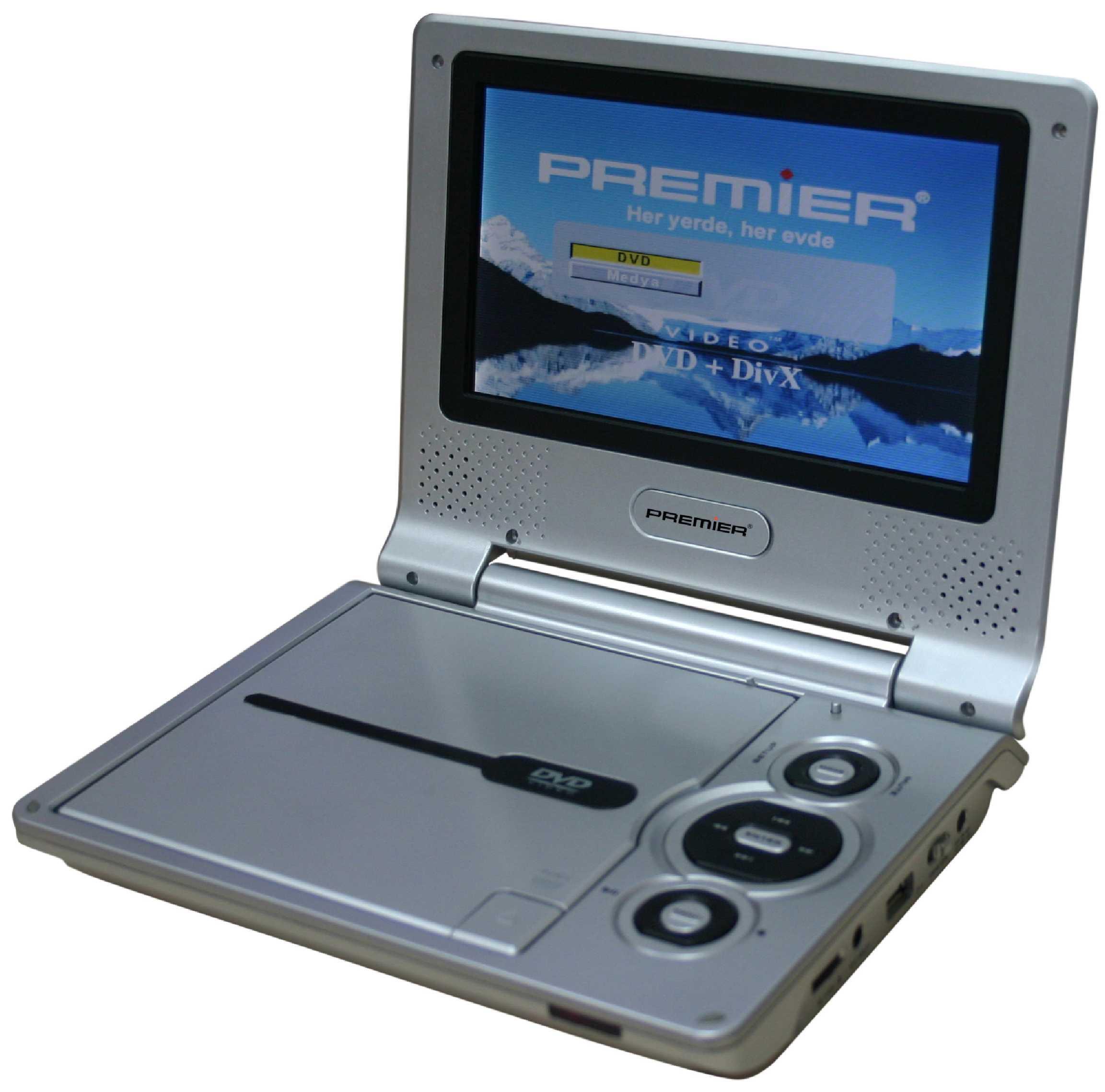 Pr 2842 Taşınabilir DVD Oynatıcı 7