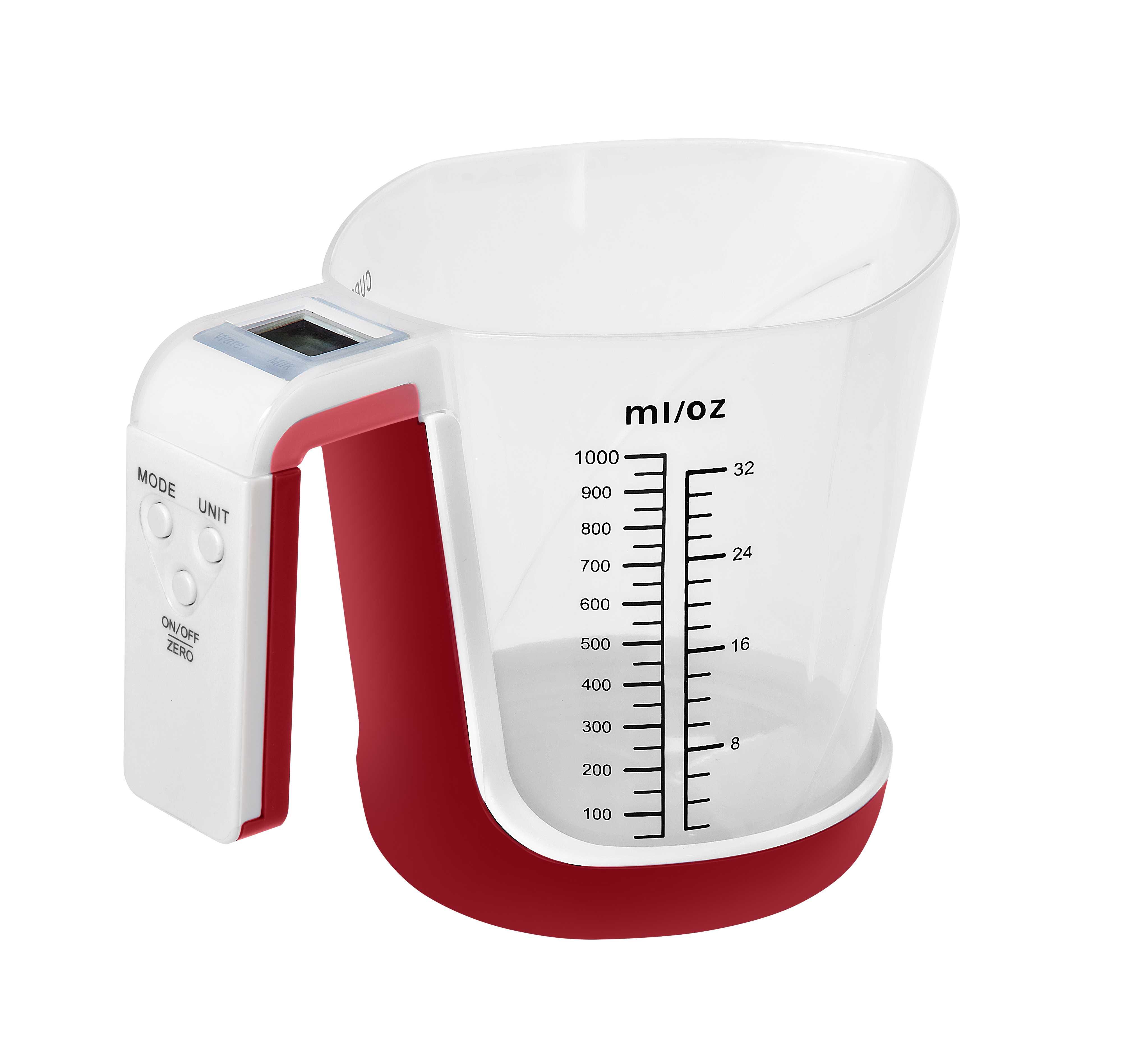 Pks 284 3Kg Lcd Göstergeli Sıvı Ölçer Fonksiyonlu Mutfak Tartısı