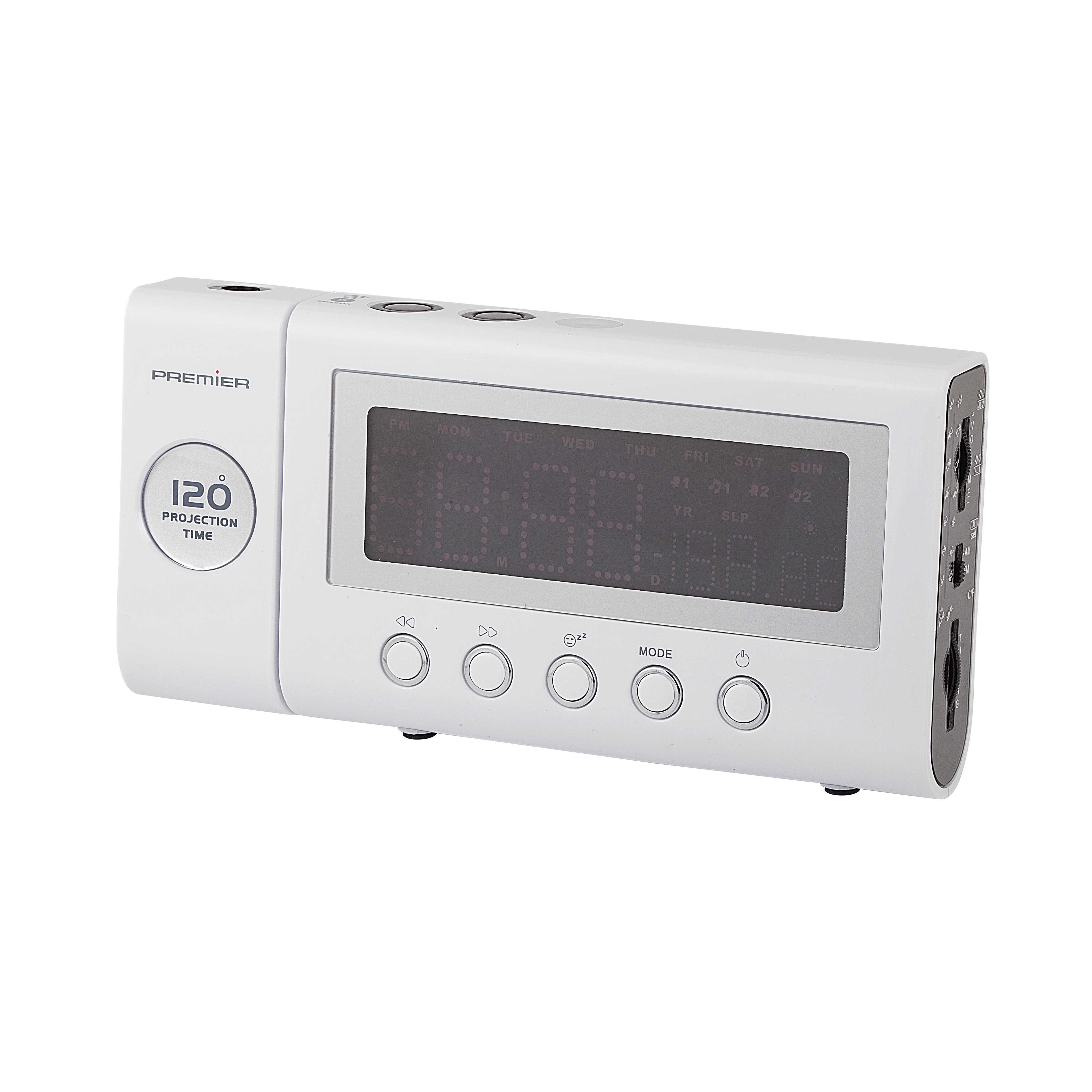 Prc 98 Alarm Saatli Radyo Projektörlü